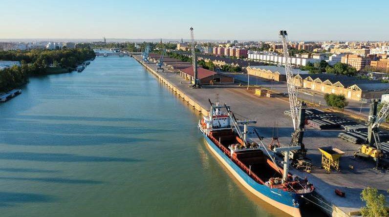 Aprobado el pliego para la nueva terminal de la Dársena del Cuarto del Puerto de Sevilla