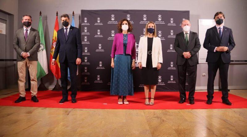 """Alcalá de Guadaíra presenta su proyecto """"Corazón industrial"""" para liderar el relanzamiento de la industria en Andalucía"""