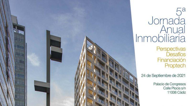 FAEC y ASPRICA organizan su V Jornada Anual Inmobiliaria el 24 de septiembre en Cádiz