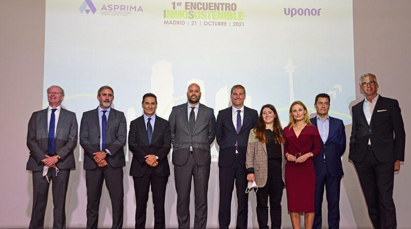 ASPRIMA y Uponor organizan el Primer Encuentro Inmosostenible para analizar los retos a los que se enfrenta el sector inmobiliario en materia de sostenibilidad